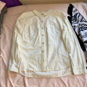 Charter Club - White Corduroy Button Down